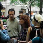 Susan Sarandon At Occupy Wall Street
